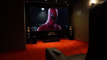 Salle Home Cinéma thème super-héros