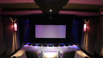 Showroom salle de cinéma