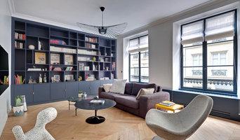 A Paris, un appartement haute couture inspiré de l'hôtellerie de luxe