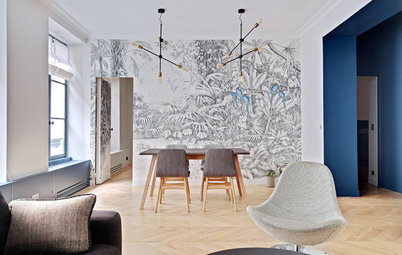 Before and After: A Parisian Apartment Revamped and Restored