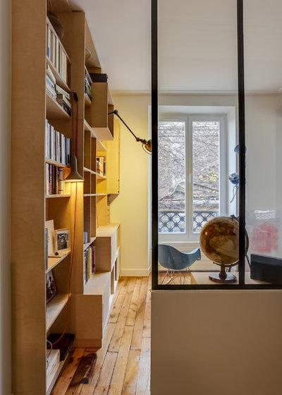 le case di houzz pannelli di compensato trasformano un appartamento. Black Bedroom Furniture Sets. Home Design Ideas