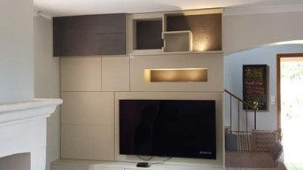 Agencement meuble TV sur mesure