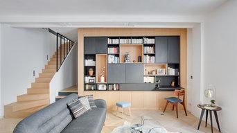 AgencementS dans un loft parisien
