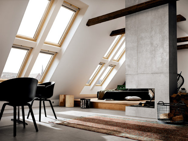 Modern Wohnzimmer By VELUX France Officiel