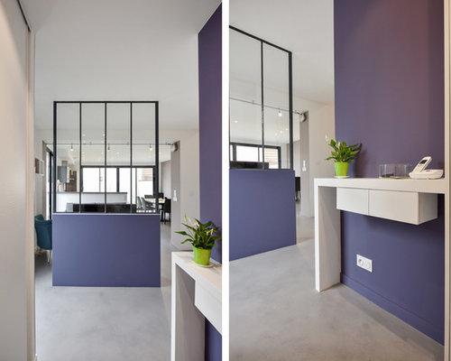Aménagement et décoration d\'une pièce à vivre dans une maison à Lyon 08