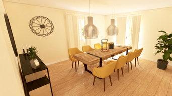 Aménagement et décoration d'une salle à manger
