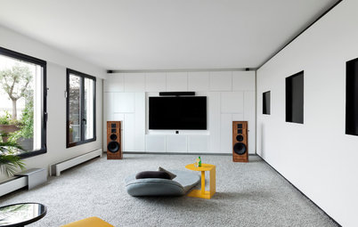 French Houzz: A Paris Flat is Enhanced With an Open-Plan Design