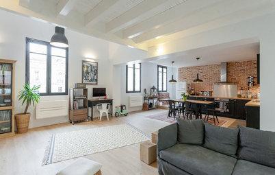 Visite Privée : Un appartement bordelais s'approprie le style loft