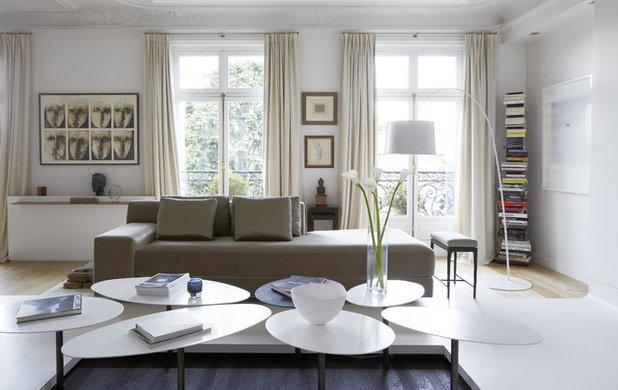 skandinavisch wohnzimmer by bismut bismut architectes - Podest Fr Wohnzimmer