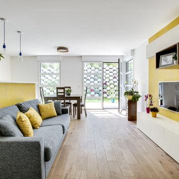 Appartement avec optimisation de l'espace et décoration