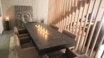 Appartement contemporain zen