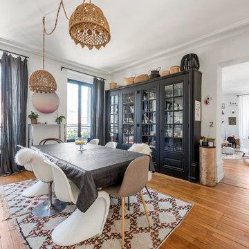 Appartement d'exception revisité par architecte Alexandra Tamburini