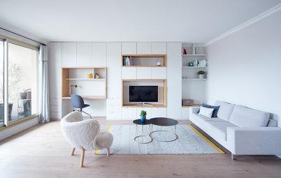 Visite Privée : Un 100 m² modernisé et épuré grâce au sur-mesure