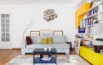 Visite Privée : Un appartement haussmannien plein de peps