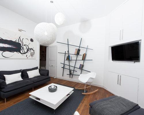 photos et id es d co de pi ces vivre contemporaines. Black Bedroom Furniture Sets. Home Design Ideas