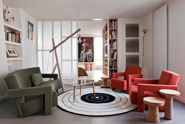 Contemporary Family & Games Room by Element - s design d'intérieur