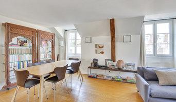 Appartement parisien dans le quartier du Marais