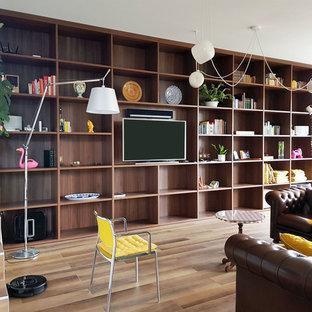 Kolonialstil Wohnzimmer Mit Hangekamin Ideen Design Bilder Houzz