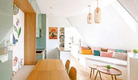 Visite Privée : Un 30 m2 parisien aux couleurs printanières
