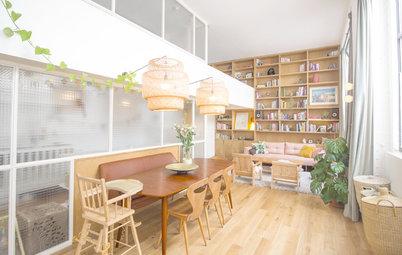 Visite Privée : Une verrière pour sublimer les volumes d'un loft