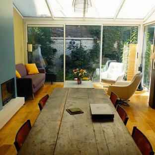 Conseil couleur et matériaux - Maison familiale de 3 étages à Saint-Ouen