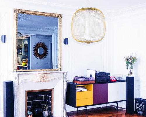 Ecran Miroir Trumeau de Cheminée Haussmannien - Paris X
