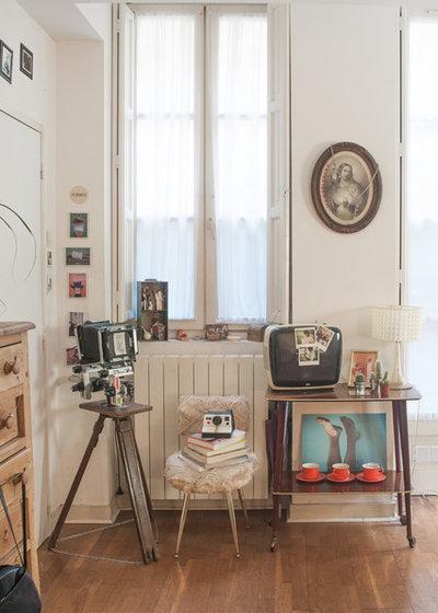 Éclectique Salle de Séjour by Jours & Nuits