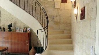 escalier voute sarrasine