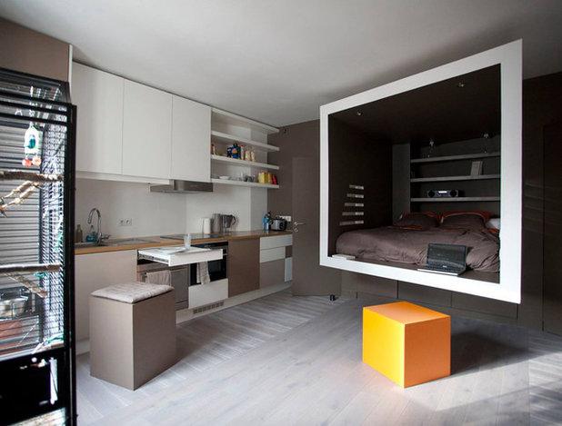 Modern Wohnzimmer by Cyril Rheims Architecte