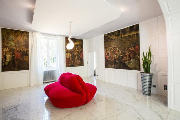Contemporain Salle de Séjour by A3Design