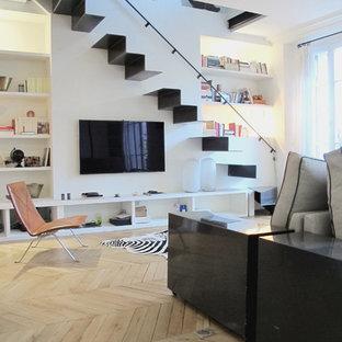 Tv Sous Escalier Photos Et Idees Deco