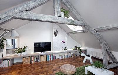 Avant/Après : Un cocon sous les toits pour une jeune architecte