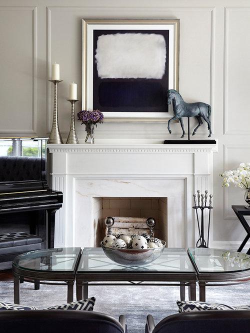Ideas para salas de estar | Fotos de salas de estar con rincón ...