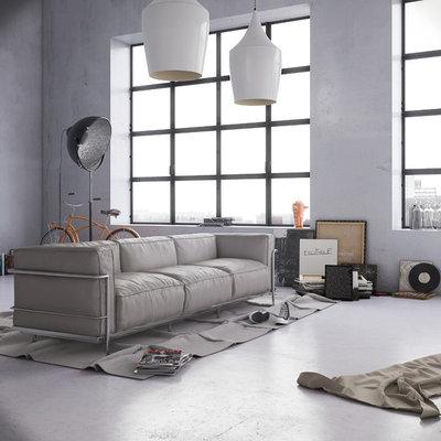 Colori neutri per pareti il grigio - Colori per pareti interne casa ...