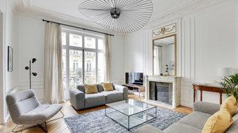 La renaissance d'un appartement haussmannien parisien