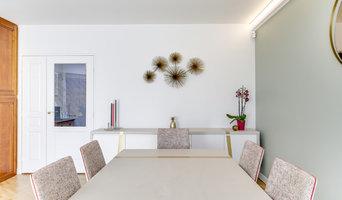 Levallois - Entrée, séjour, couloir, chambre