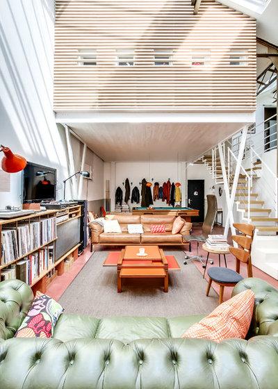 25 idee di soppalchi per abitazioni moderne for Idee scale per soppalchi