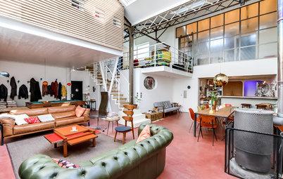 Suivez le Guide : Un loft mêle charme vintage et esprit scandinave