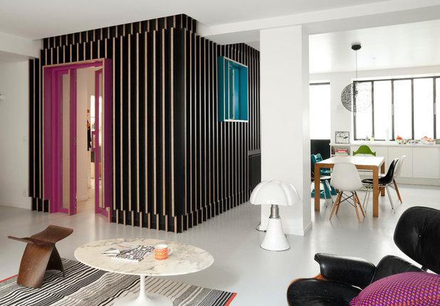 Современный Семейная комната by Arnaud Rinuccini - Photographe Architecture