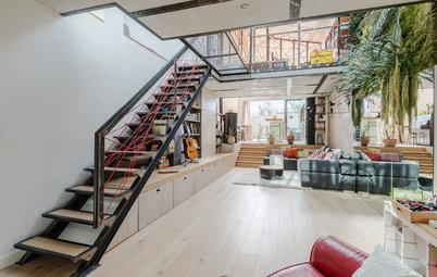 Suivez le guide un style loft fait maison dans le centre de cannes - Hangar transforme en loft ...