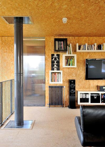 Industriel Salle de Séjour by Fabien Perret et associés architecte