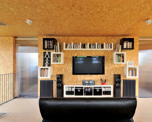 Osb Plywood Wall Home Design Ideas Pictures Remodel And
