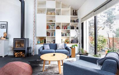 Salon de la Semaine : Un espace modulable dans une maison d'architecte