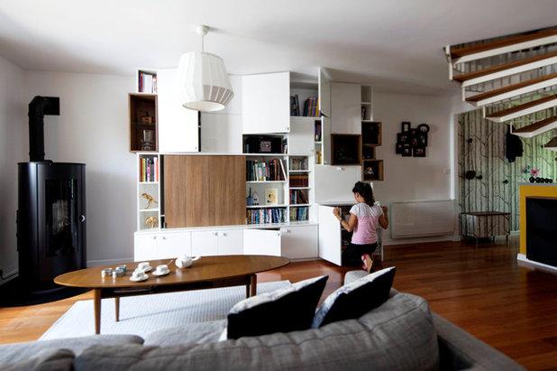 Scandinave Salle de Séjour by DAM DAM' Design