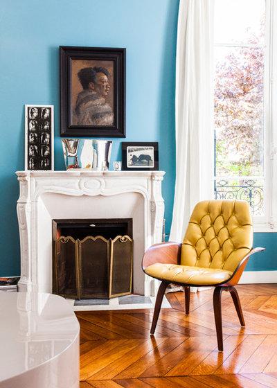 houzzbesuch ein farbenfrohes k nstlerhaus in frankreich. Black Bedroom Furniture Sets. Home Design Ideas