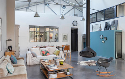 Visite Privée : Un ancien garage transformé en loft