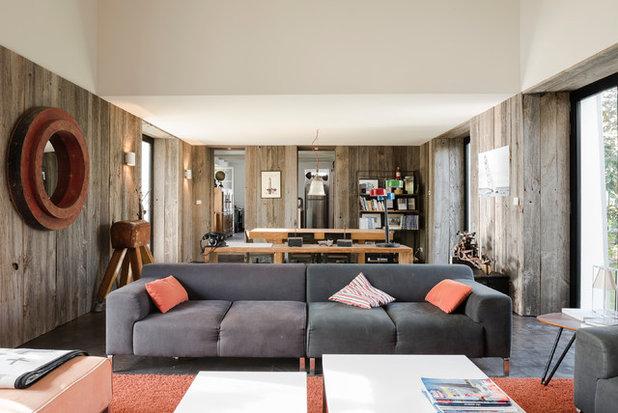 suivez le guide un chai reconverti en r sidence secondaire. Black Bedroom Furniture Sets. Home Design Ideas