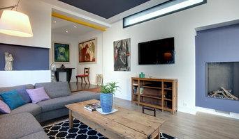Maison style Mondrian