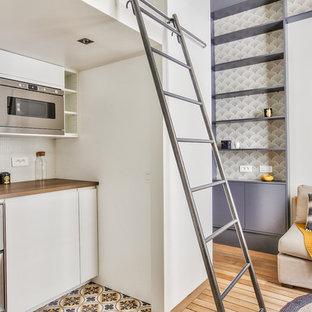 Mellow Yellow - Rénovation Studio 18m² Paris 15e