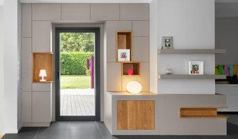 meuble de rangement, porte fenêtre